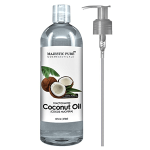 Majestic pure coconut oil